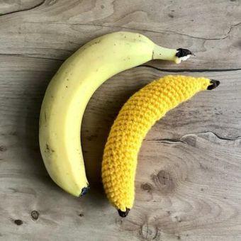 Banane Häkelanleitung