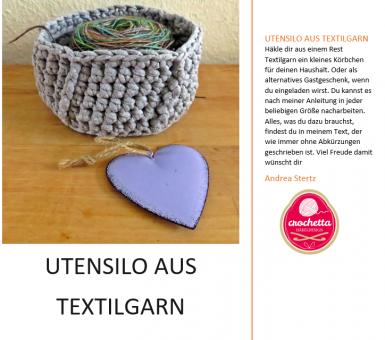 Utensilo aus Textilgarn