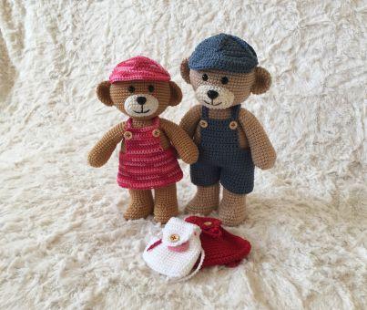 Häkelanleitung Theo und Thea Teddy