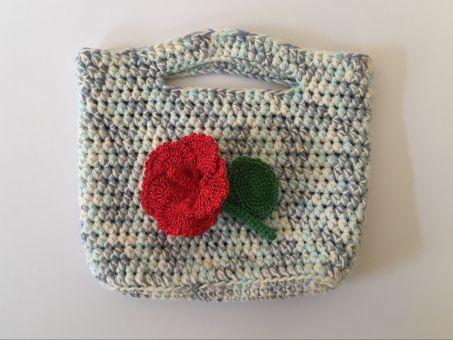 Hibiskusblüte - Häkelanleitung