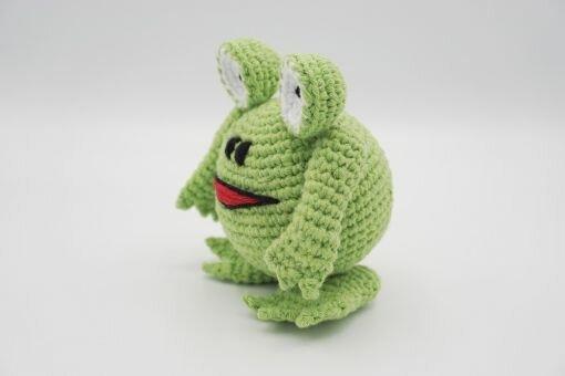 Muki-Frosch ⇝ Häkelanleitung (Crochet Pattern Frog)