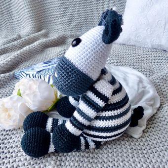 Spieluhr Zebra häkeln