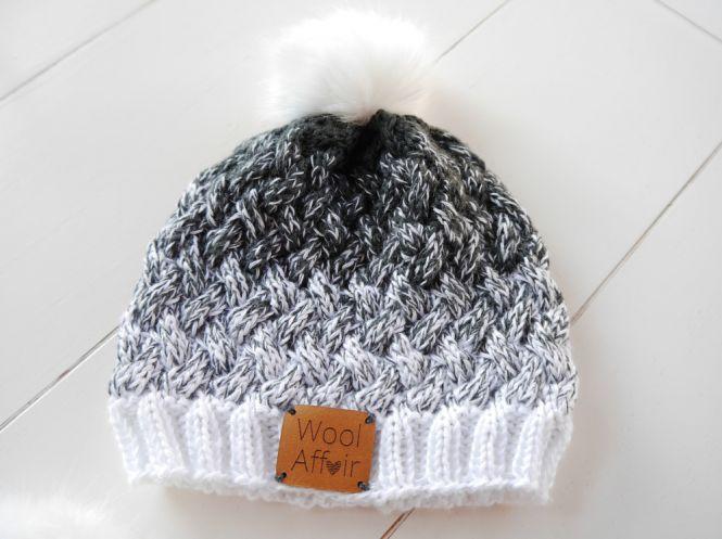 WoolAffair - Strickanleitung - schicke Mütze mit Flechtmuster - No ...