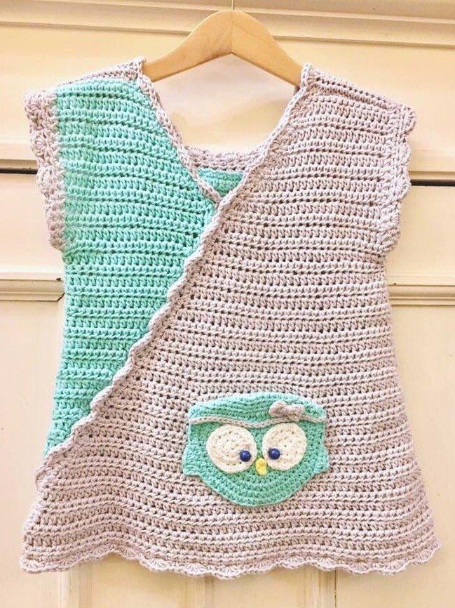 Crochetmama Häkelanleitung Kleid Tunika Lotta Gr 86 104 Und 122