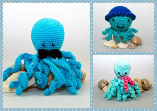 Pointelleshop Amigurumi Puppe Oktopus Häkelnanleitung Myboshinet