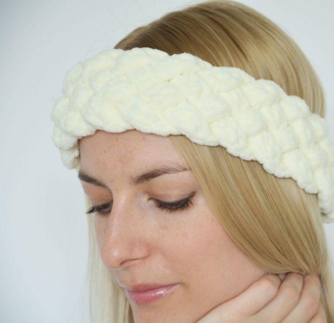 Sapri Design Geflochtenes Stirnband Häkelanleitung Myboshinet