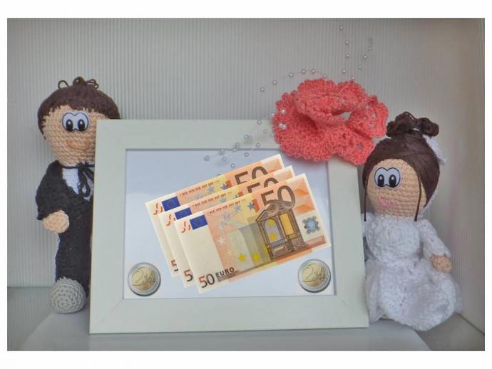 Hochzeit geshenk zur hochzeit geldgeschenk puppe for Hochzeit geldgeschenk hohe