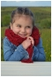 ++ LENIA ++ Set Newsgirl Hat mit Blüte und Schal