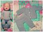 Puppenkleidung (Jacke, Hose, Rock)