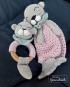 Häkelanleitung Greifling und Schmusetuch Otter Lisa