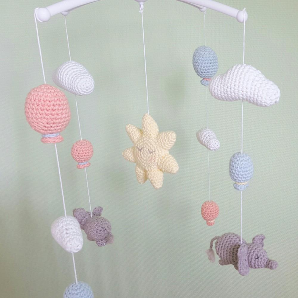 luftballon amigurumi f r mobile h kelanleitung h keln. Black Bedroom Furniture Sets. Home Design Ideas