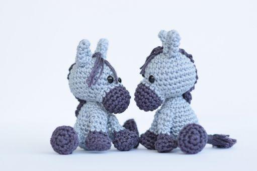 Haekelicious Pferd / Esel / Einhorn / Zebra