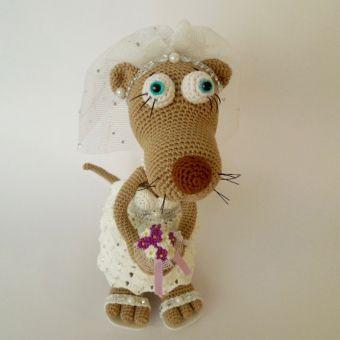 Hochzeits-Outfit, für Rösli das bayrische Wiesel