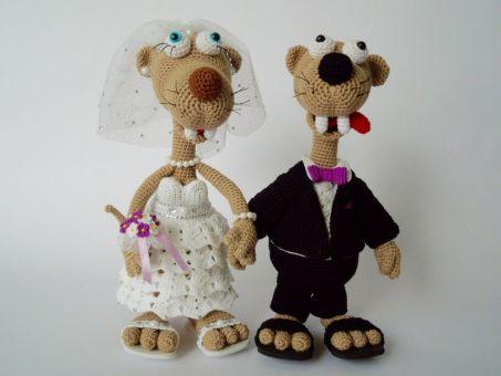 Hochzeits-Outfit, für Seppl das bayrische Wiesel