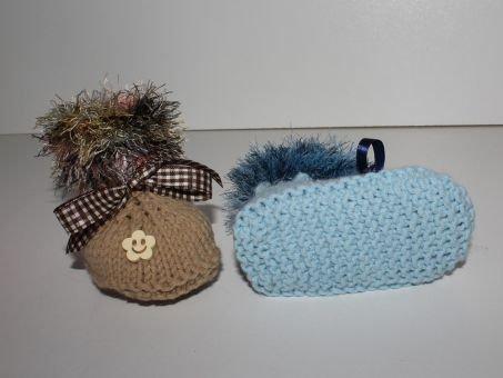 Strickanleitung Baby-Schuhe, Baby-Booties in 2 Größen