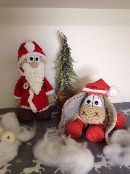 Santa und Flocke
