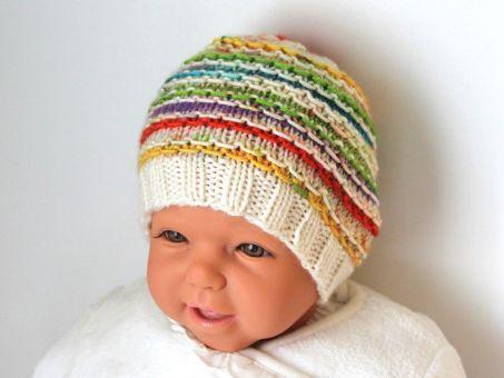 Strickanleitung Babyset Lollypop, Strampelsack, Mütze
