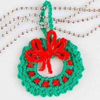 Amigurumi Adventkrönze Weihnachtsdeko Häkelanleitung