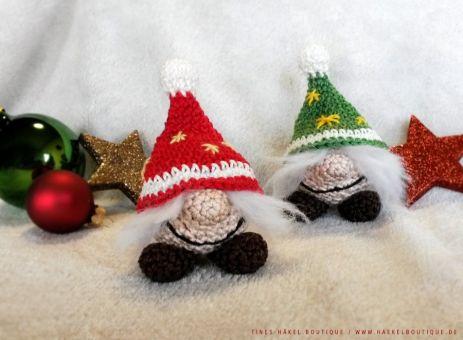 """Häkelanleitung """"Kleine Weihnachtswichtel"""""""