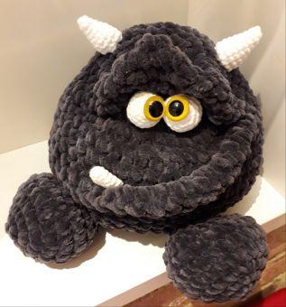 """Häkelanleitung """"Blobbo das Monster"""""""