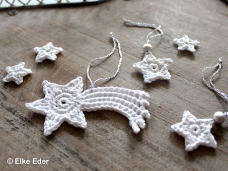 Sterne, Stern von Bethlehem - Baumschmuck, Geschenkanhänger