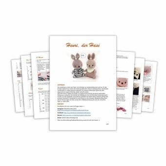 PDF Hase Henri als Spieluhr oder Kuscheltier