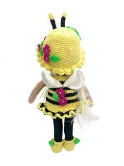 Häkelanleitung Kuschelschnuffelbande Puppe Bienchen