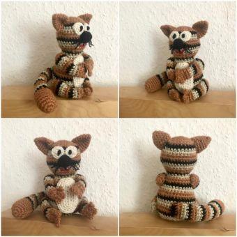Katze/Tigerkatze häkeln