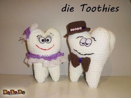 die Toothies, der Backenzahn, ein Zahn zum Kuscheln, dadade