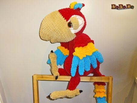 Ara-Bella, der lustige Papagei