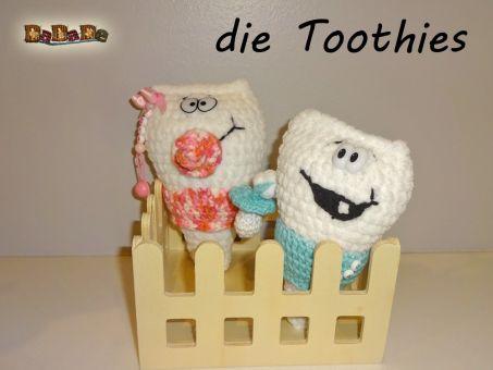 die Toothies Babys, der Milchzahn, von dadade