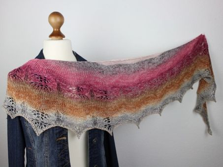 """Strickanleitung Tuch """"Colors of Hope"""""""