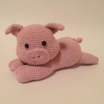 Häkelanleitung Schweinchen Kimey