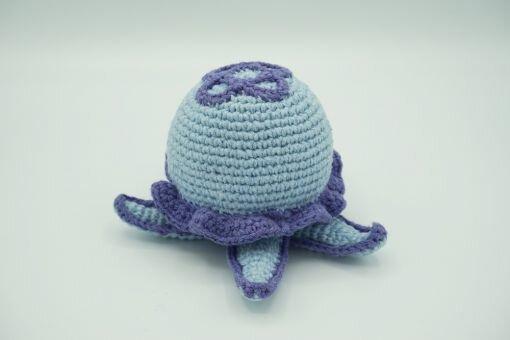 Muki-Qualle ⇝ Häkelanleitung (Crochet Pattern Jellyfish)