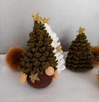 Weihnachtsbaum Gnom
