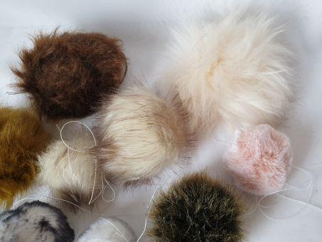 Mützenbommel, Taschenbaumler, Katzenspielzeug