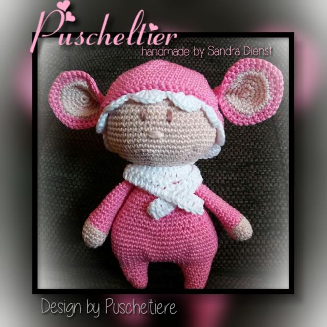 Puscheltiere - Häkelanleitung Puscheltier | MyBoshi.net