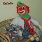 Doktor Clown mit Hasso, dem kranken Hund