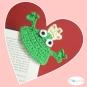Lesezeichen Froschkönig