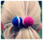 Haarbälle- eine Schritt für Schritt- Häkel-Fotoanleitung