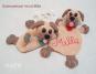 Häkelanleitung Schmusetuch Hund Milla