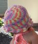 Häkelanleitung Sonnenhut für Säuglinge bis Kleinkinder