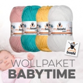 Baumwolle für Babysachen kaufen 4er Set Babytime
