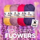 wollset sommer wolle aus baumwolle butterblume candy purpur magenta violett