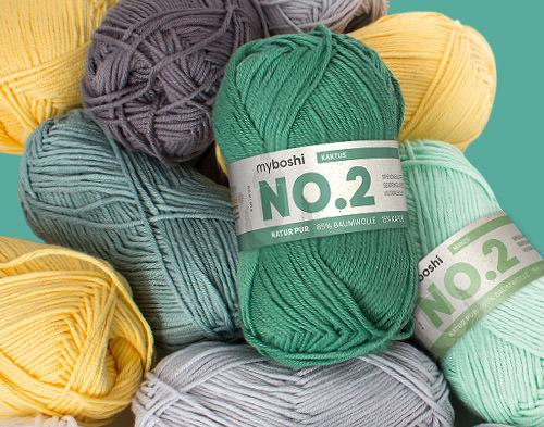 myboshi Wolle No.2 Knäuel